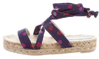 Marc by Marc Jacobs Polka Dot Espadrille Sandals