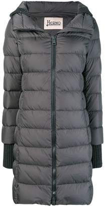 Herno (ヘルノ) - Herno hooded feather down jacket
