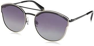 Polaroid Sunglasses Women's Pld4057s Polarized Oval