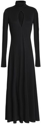 Emilio Pucci Cutout Stretch-Jersey Turtleneck Midi Dress