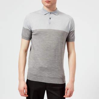 John Smedley Men's Toller 30 Gauge Extra Fine Merino Wool Polo Shirt