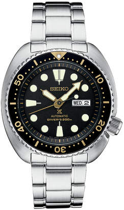 Seiko Men's Prospex Automatic Diver Stainless Steel Bracelet Watch 45mm SRP775