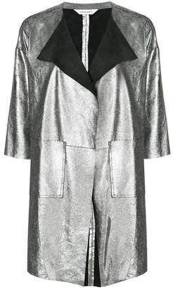 Giorgio Brato metallic panelled jacket