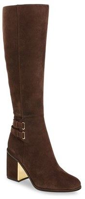 Women's Calvin Klein Camie Water Resistant Knee High Boot $289 thestylecure.com