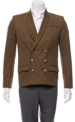 Balmain Double-Breasted Shawl Collar Blazer