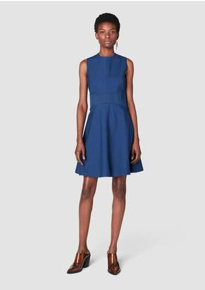 Derek Lam 10 Crosby Sleeveless Fit Flare Dress With Corset Waist