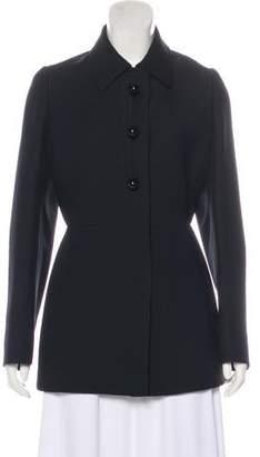 Prada Wool Button-Up Jacket w/ Tags