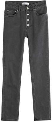 Anine Bing High-Waisted Skinny Jeans