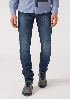 Emporio Armani J20 Extra Slim Fit Stretch Cotton Denim Jeans