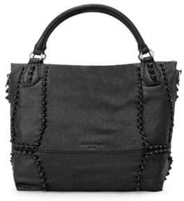 Liebeskind Berlin Leather Knot Satchel