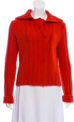 Philosophy di Alberta Ferretti Wool Heavy Knit Sweater