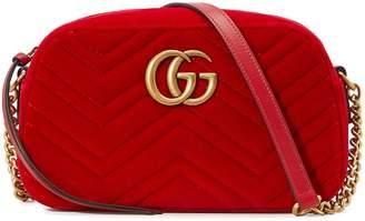 Gucci GG Marmont velvet camera bag