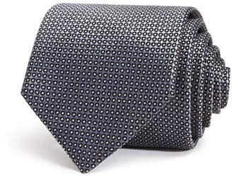 Giorgio Armani Textured-Dot Classic Silk Tie