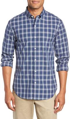 Bonobos Washed Button Down Slim Fit Plaid Sport Shirt