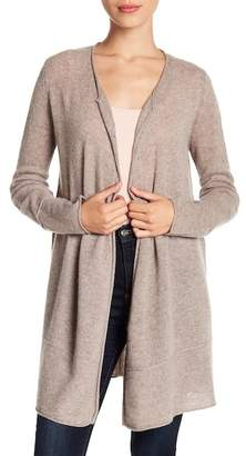Magaschoni M BY Cashmere Long Sleeve Cardigan (Petite)