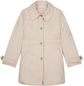 Chloé Wool Single Breasted Coat