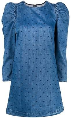 Ulla Johnson short denim dress
