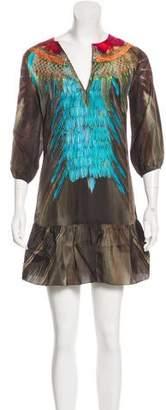 Figue Silk Mini Dress