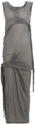 Rick Owens wrap-detail shift dress