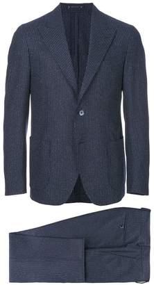 Bagnoli Sartoria Napoli pinstripe two piece suit