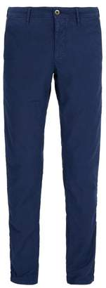 Incotex Slim Leg Chino Trousers - Mens - Blue
