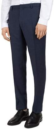 The Kooples Sea Checks Wool Slim Fit Trousers