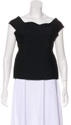 Herve Leger Sleeveless Bandage Top