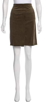 Max Studio Faux Suede Knee-Length Skirt w/ Tags