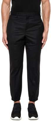 Neil Barrett Black Wool Trousers