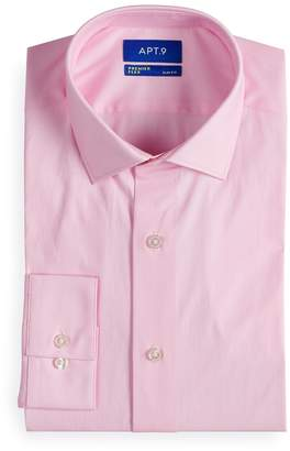 Apt. 9 Men's Premier Flex Slim-Fit Cut-Away Collar Dress Shirt