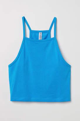 H&M Short Camisole Top - Blue