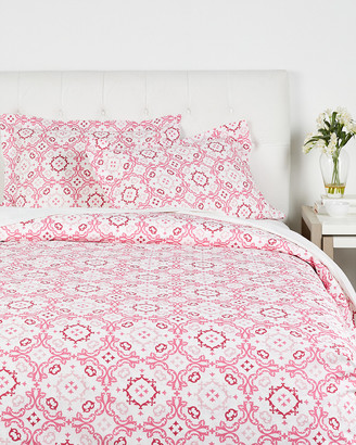 Whit & Alex Whit And Alex Moroccan Tile Duvet Set