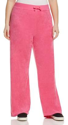Juicy Couture Black Label Plus Black Label Mar Vista Microterry Track Pants - 100% Exclusive
