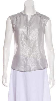 Calvin Klein Metallic Sleeveless Top