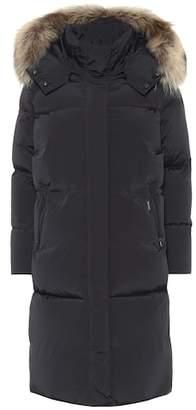 Woolrich Ester fur-trimmed down coat