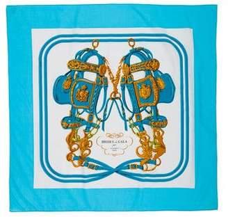 Hermes Brides de Gala 70cm Cotton Scarf