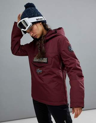 Napapijri Rainforest Winter Jacket In Burgundy