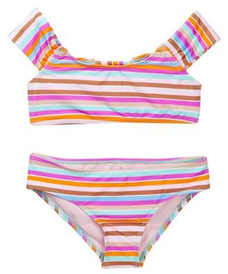Raisins Swim Laguna Stripes Floating Island Bikini (Big Girls)