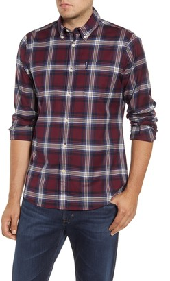 Barbour Highland Check Tailored Fit Button-Down Shirt