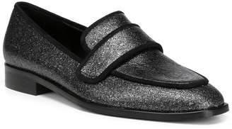 Donald J Pliner Loretta Glitter Suede Loafer