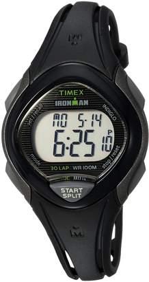 Timex Women's TW5M10300 Ironman Sleek 30 Resin Strap Watch