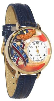Whimsical Watches American Patriotic Watch in Gold (Large)