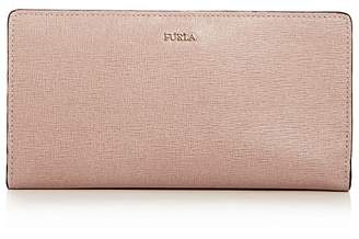 Furla Babylon Embossed Leather Continental Wallet