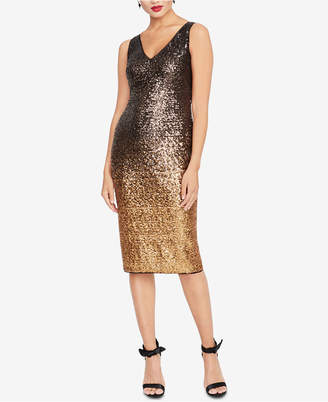 Rachel Roy Ombre Sequined Sheath Dress