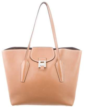Michael Kors Bancroft Leather Tote Brown Bancroft Leather Tote