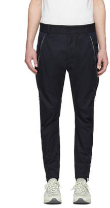 Diesel Black Gold Navy Side Zip Trousers
