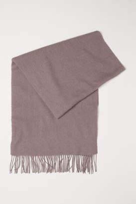 H&M Wool Scarf - Brown