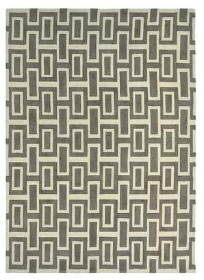 Wedgwood Grey Intaglio Wool Rug