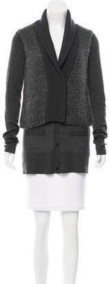 Vera Wang Wool & Mohair-Blend Cardigan $145 thestylecure.com