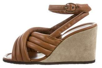 Isabel Marant Rowland Leather Wedges
